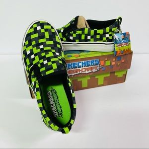 Skechers mega craft boys slip on sneakers size 2
